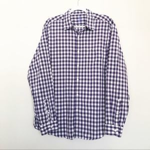 J.Crew Men's Purple Button Down Shirt | Size Large
